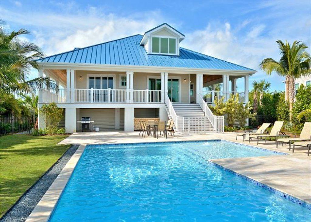 Key Haven pool view 2